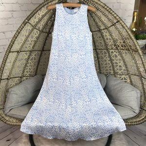 Nordstrom Signature Silk Dress - Blue